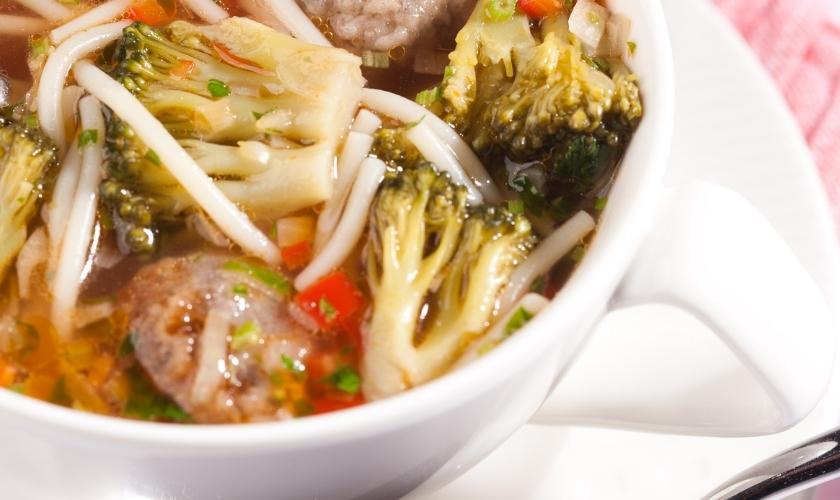 Broccoli Spaghetti Soup