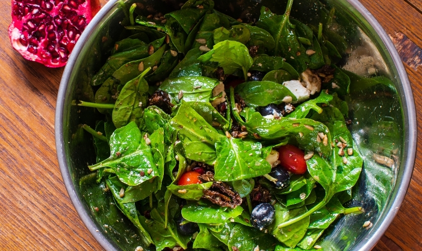 Super Healthy Spinach Salad