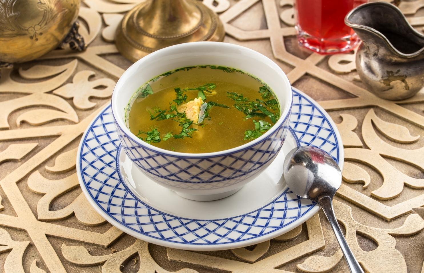 Oriental Fish Soup