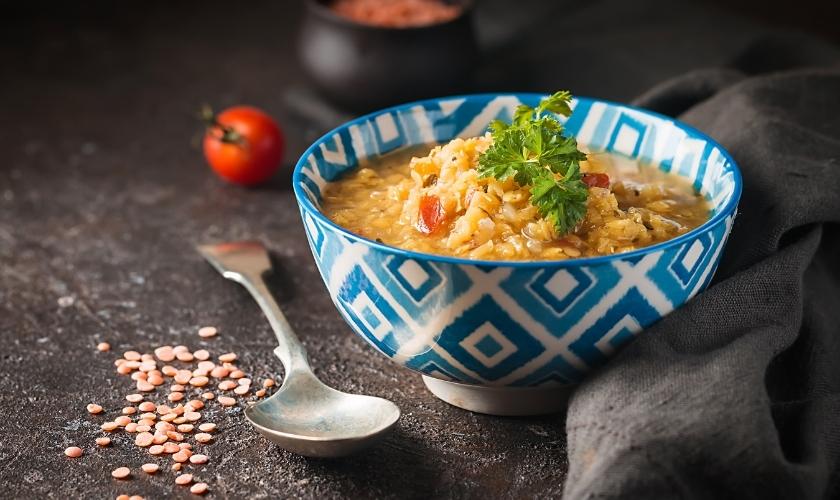 Corn & Lentil Soup